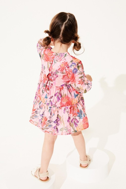 Next Cotton Tiered Dress (3mths-7yrs)