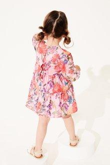 Next Cotton Tiered Dress (3mths-7yrs) - 289420