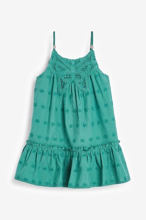 Next Butterfly Crochet Dress (3mths-7yrs)