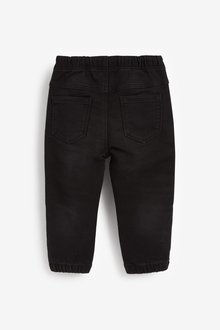 Next Regular Fit Pull-On Boucle Jeans (3mths-7yrs) - 289443