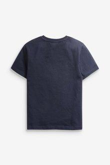 Next 3 Pack Heritage Colourblock T-Shirts (3-16yrs) - 289445