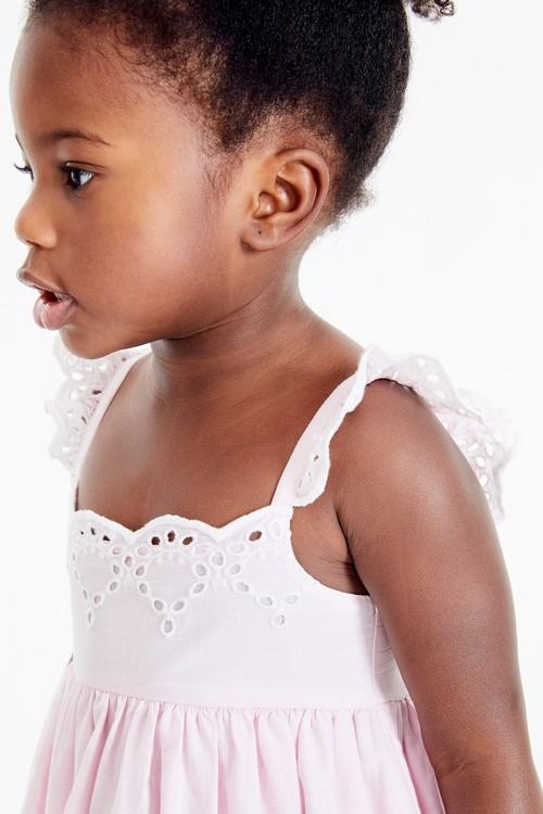 Next Cotton Broderie Beach Dress (3mths-7yrs)