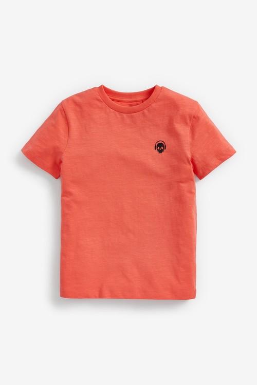 Next 3 Pack Bright Splat Short Sleeve Jersey T-Shirts (3-16yrs)