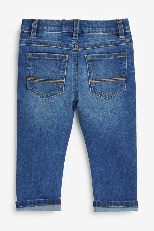 Next 2 Pack Slim Fit Jeans With Stretch (3mths-7yrs)