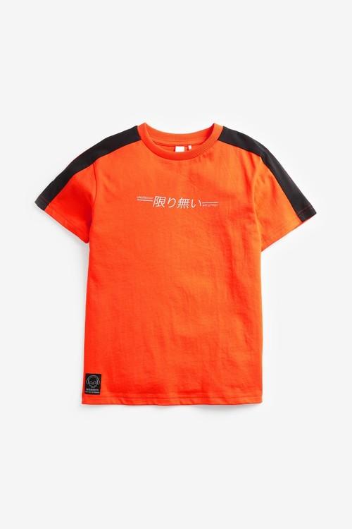 Next 3 Pack Colourblock Splat T-Shirts (3-16yrs)
