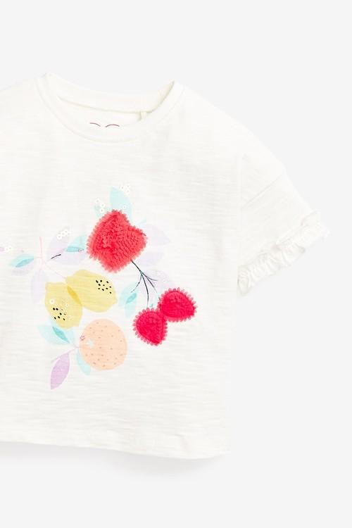 Next Lemon Organic Cotton T-Shirt (3mths-7yrs)