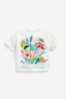 Next Tropical Print T-Shirt (3mths-7yrs) - 289524
