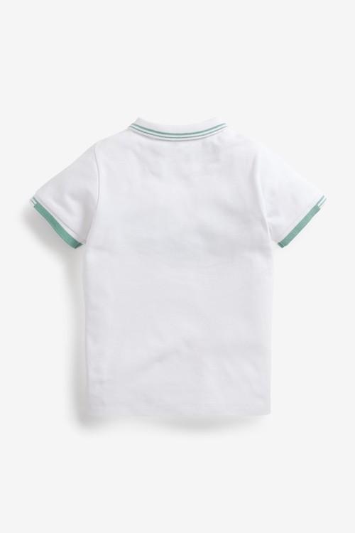 Next Heritage Jersey Poloshirt (3-16yrs)