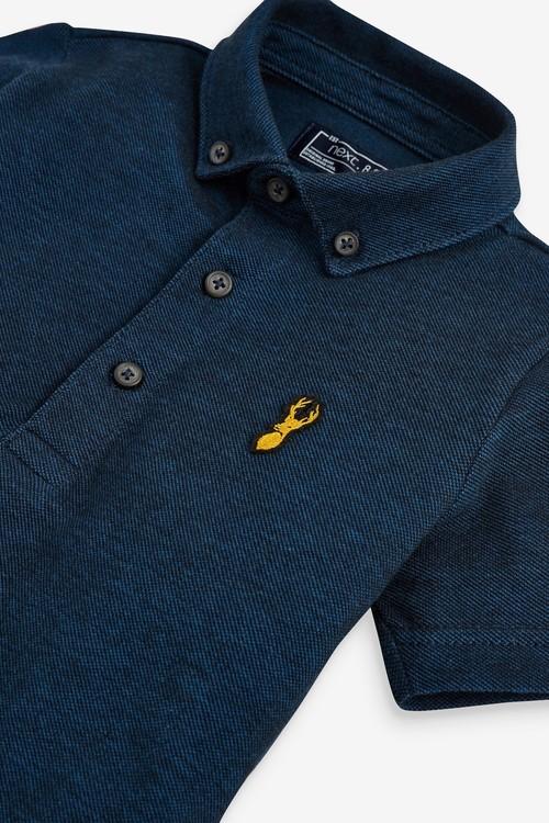 Next Short Sleeve Two Tone Poloshirt (3-16yrs)