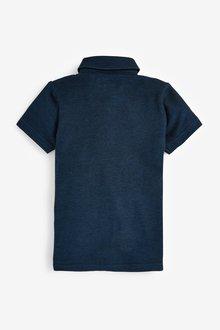 Next Short Sleeve Two Tone Poloshirt (3-16yrs) - 289540