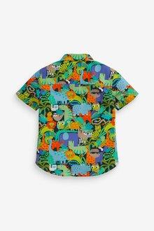 Next Short Sleeve Animal Shirt (3mths-7yrs) - 289557