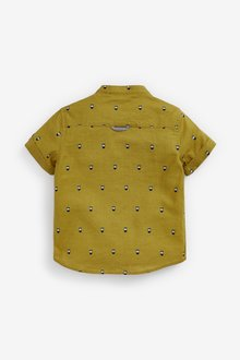 Next Short Sleeve Zebra Print Shirt (3mths-7yrs) - 289563