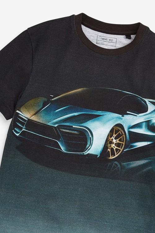 Next Car Short Sleeve T-Shirt (3-16yrs)