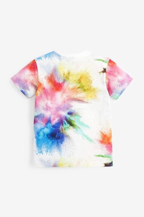 Next Bright Splat T-Shirt (3-16yrs)