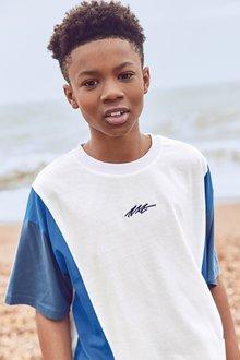 Next Colourblock Jersey T-Shirt (3-16yrs) - 289590