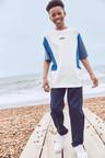 Next Colourblock Jersey T-Shirt (3-16yrs)