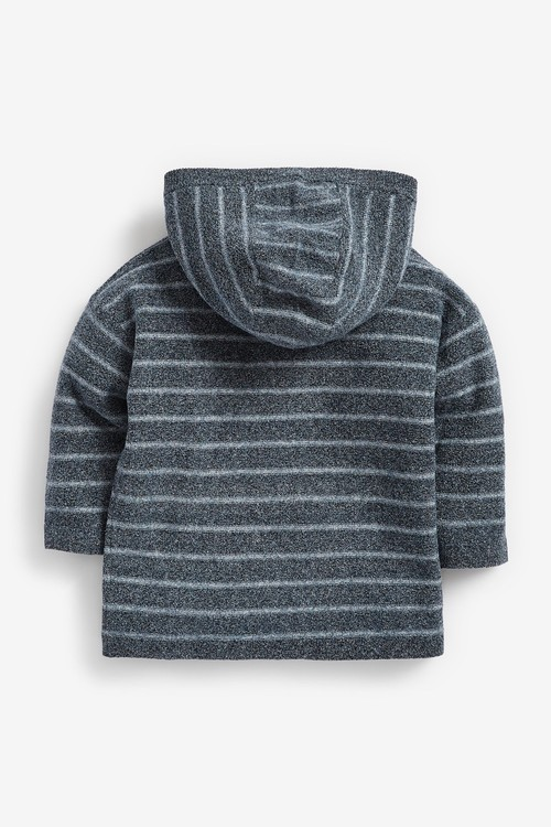 Next Knitted Oversized Stripe Hoody (3mths-7yrs)