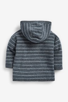 Next Knitted Oversized Stripe Hoody (3mths-7yrs) - 289591