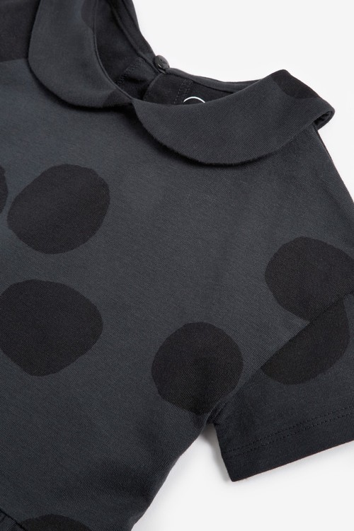 Next Organic Cotton Collar Top (3mths-7yrs)