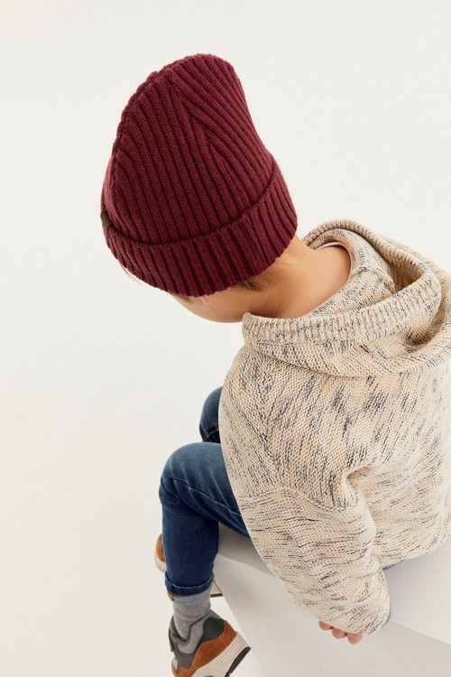 Next Knitted Slouchy Hoody (3mths-7yrs)