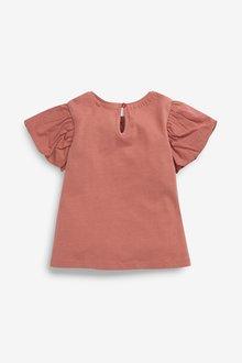 Next GOTS Organic Cotton Puff Sleeve T-Shirt (3mths-7yrs) - 289617
