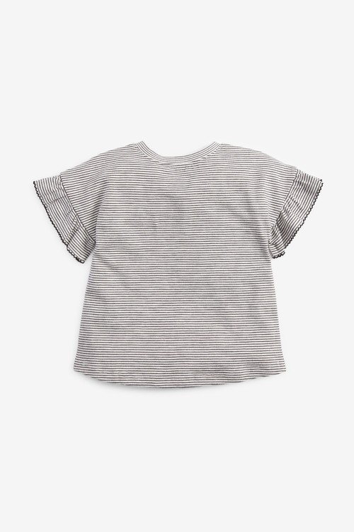 Next Frill Sleeve T-Shirt (3mths-7yrs)