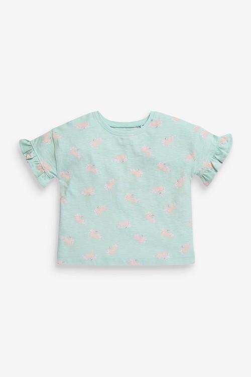 Next 5 Pack Organic Cotton T-Shirts (3mths-7yrs)
