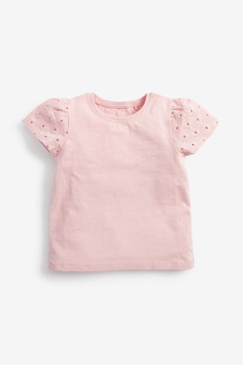 Next 3 Pack Organic Cotton T-Shirts (3mths-7yrs)
