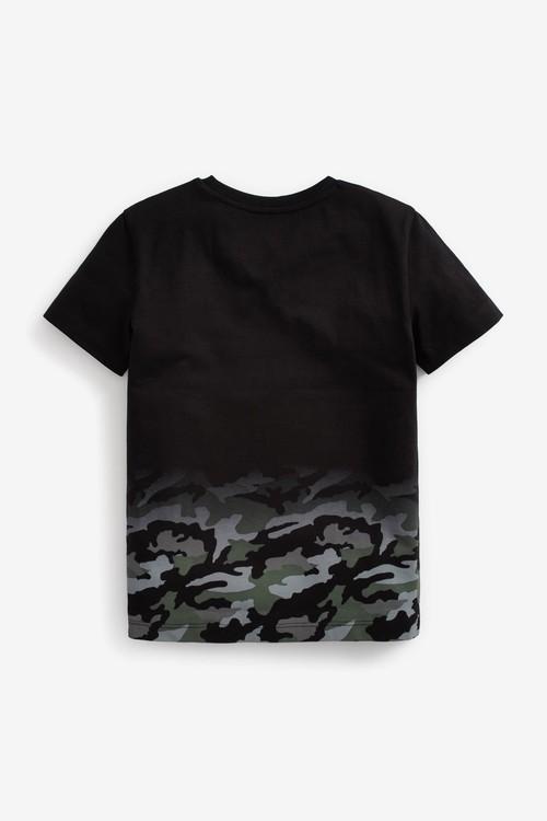 Next Gaming Short Sleeve Jersey T-Shirt (3-16yrs)