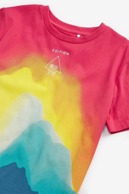 Next Bright Waves Jersey T-Shirt (3-16yrs)