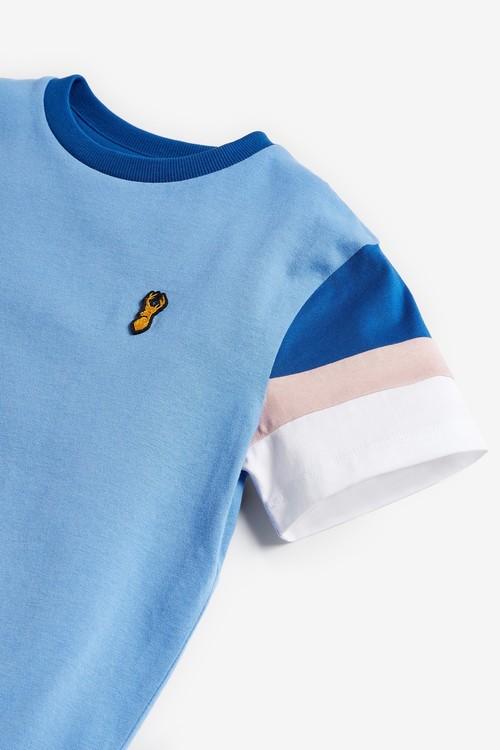 Next Colourblock T-Shirt (3-16yrs)