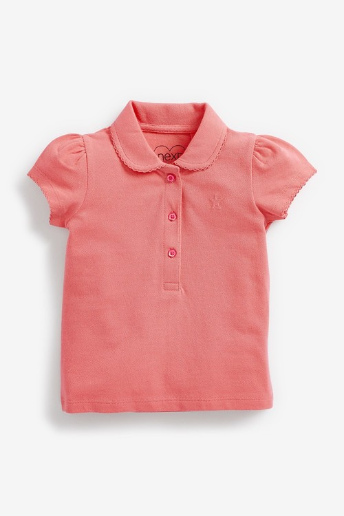 Next 3 Pack Polo Tops (3mths-7yrs)