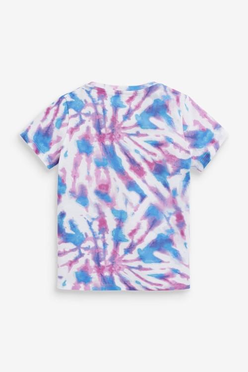 Next Relax Fit Tie Dye T-Shirt (3-16yrs)