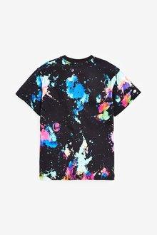 Next Rainbow Splat All Over Print T-Shirt (3-16yrs) - 289703
