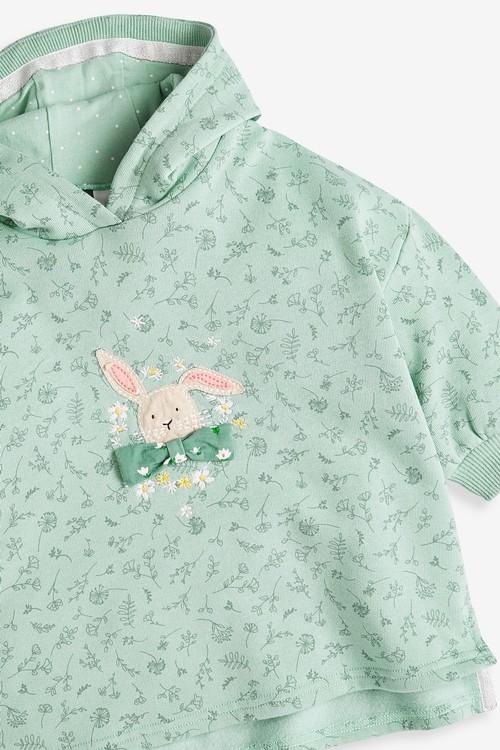Next Longline Bunny Hoody (3mths-7yrs)