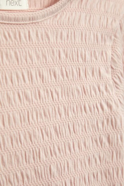 Next Shirred Long Sleeve Top (3-16yrs)