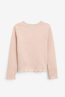 Next Shirred Long Sleeve Top (3-16yrs) - 289710
