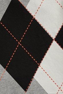 Next Argyle Print Short Sleeve T-Shirt (3-16yrs) - 289721