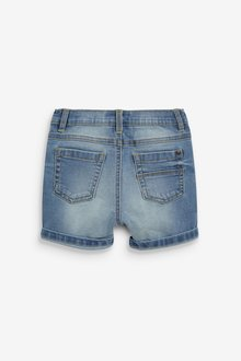 Next Distressed Denim Shorts (3mths-7yrs) - 289730