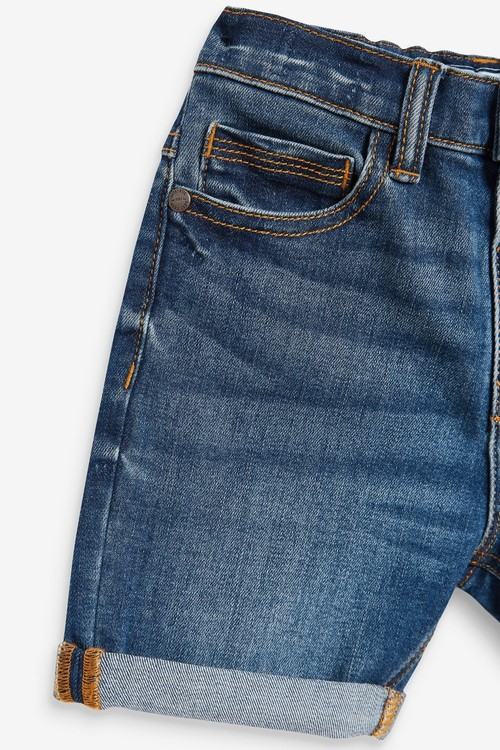 Next Denim Shorts (3mths-7yrs)-Regular Fit