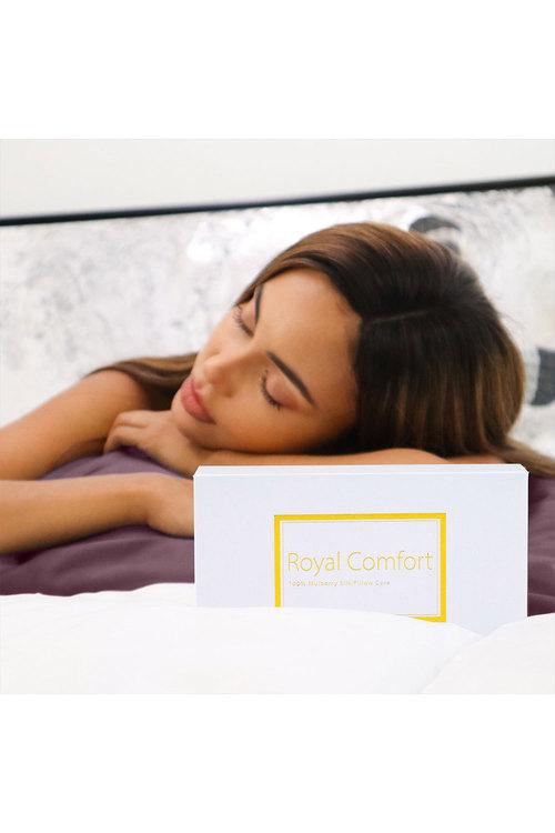 Royal Comfort Wine Pure Silk Pillow Case