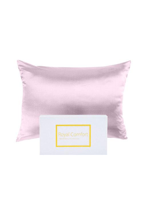 Royal Comfort Lilac Pure Silk Pillow Case