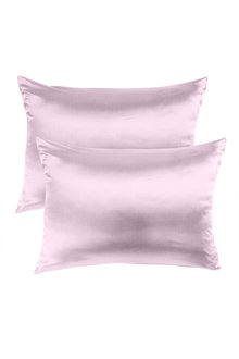 Royal Comfort Lilac Pure Silk Pillow Case - 289935