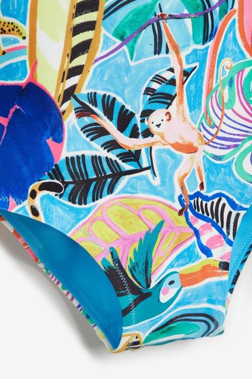 Next Print Swimsuit (3mths-7yrs)