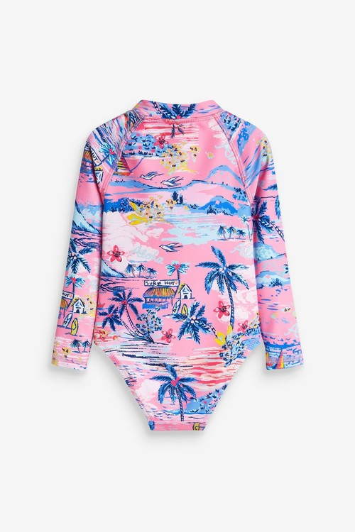 Next Long Sleeve Swimsuit (3mths-7yrs)