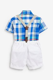 Next Shirt And Shorts Set (3mths-7yrs) - 290221
