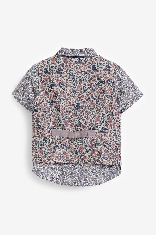 Next Waistcoat, Shirt And Shorts Set (3mths-9yrs)