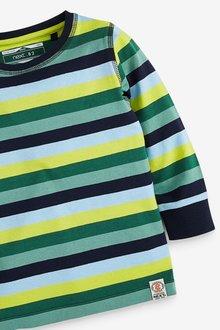 Next 2 Pack Stripe Long Sleeve T-Shirts (3mths-7yrs) - 290257