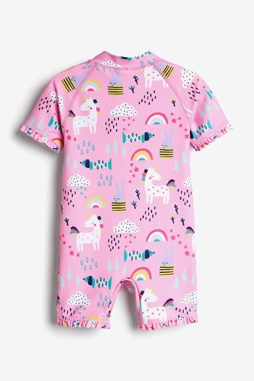 Next Unicorn Sunsafe Suit (3mths-7yrs)