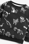 Next Dino All Over Print Crew Neck Sweater (3mths-7yrs)